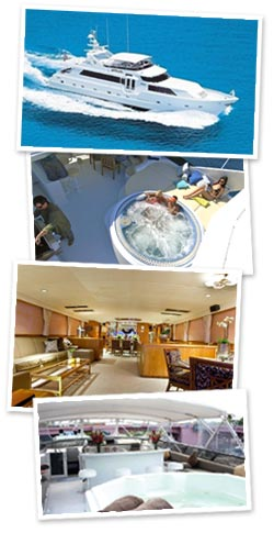 Luxury Mega Yacht for rent in Miami